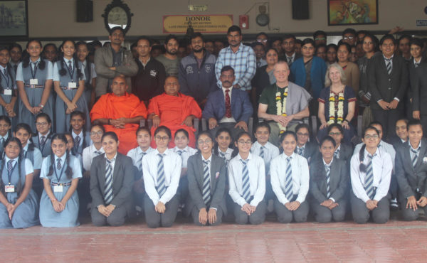 DIGNITARY VISIT IN OUR SCHOOL